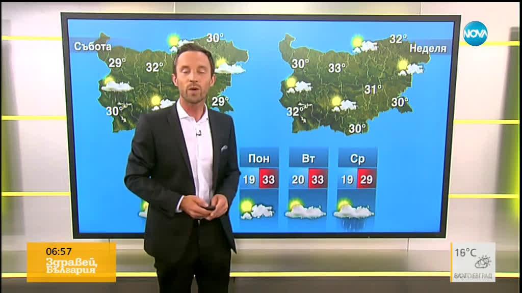 Прогноза за времето (19.07.2019 - сутрешна)