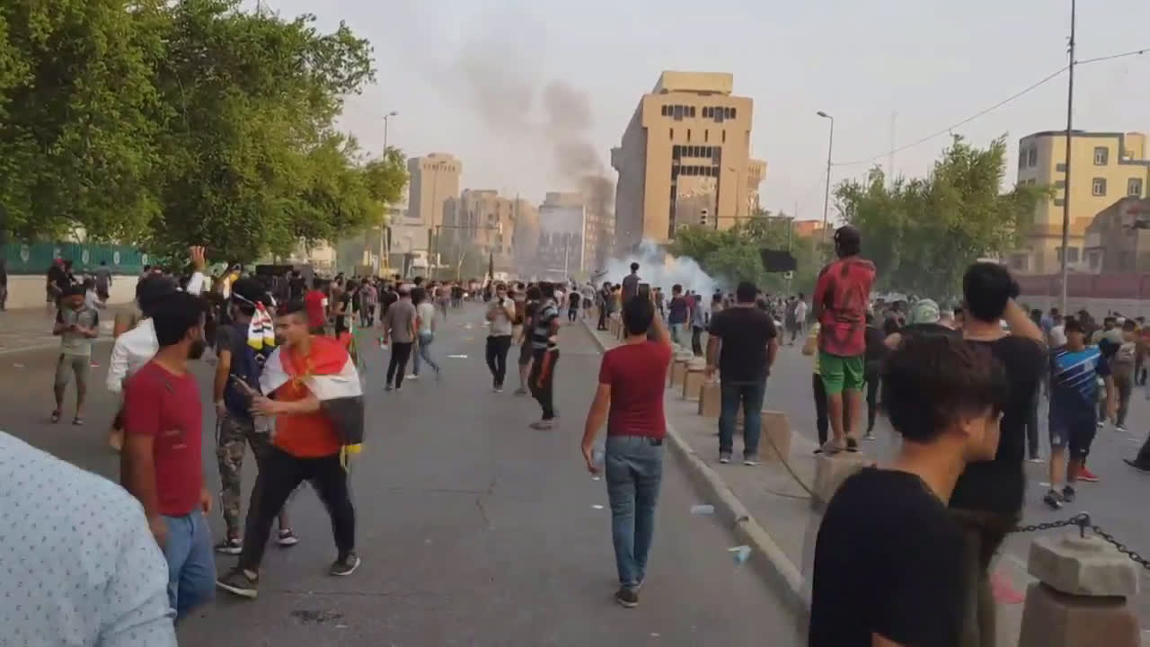 Iraq: PM Mahdi announces curfew after nationwide protests leave seven dead, hundreds inured