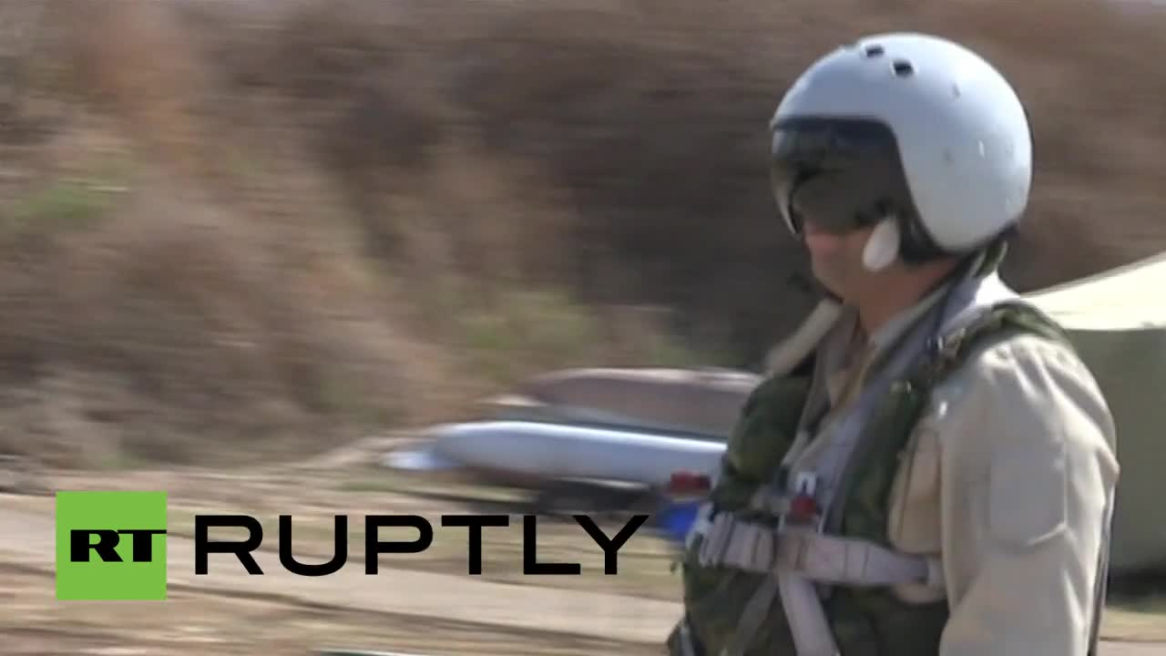 Syria: Russian fighter jets continue Syria mission