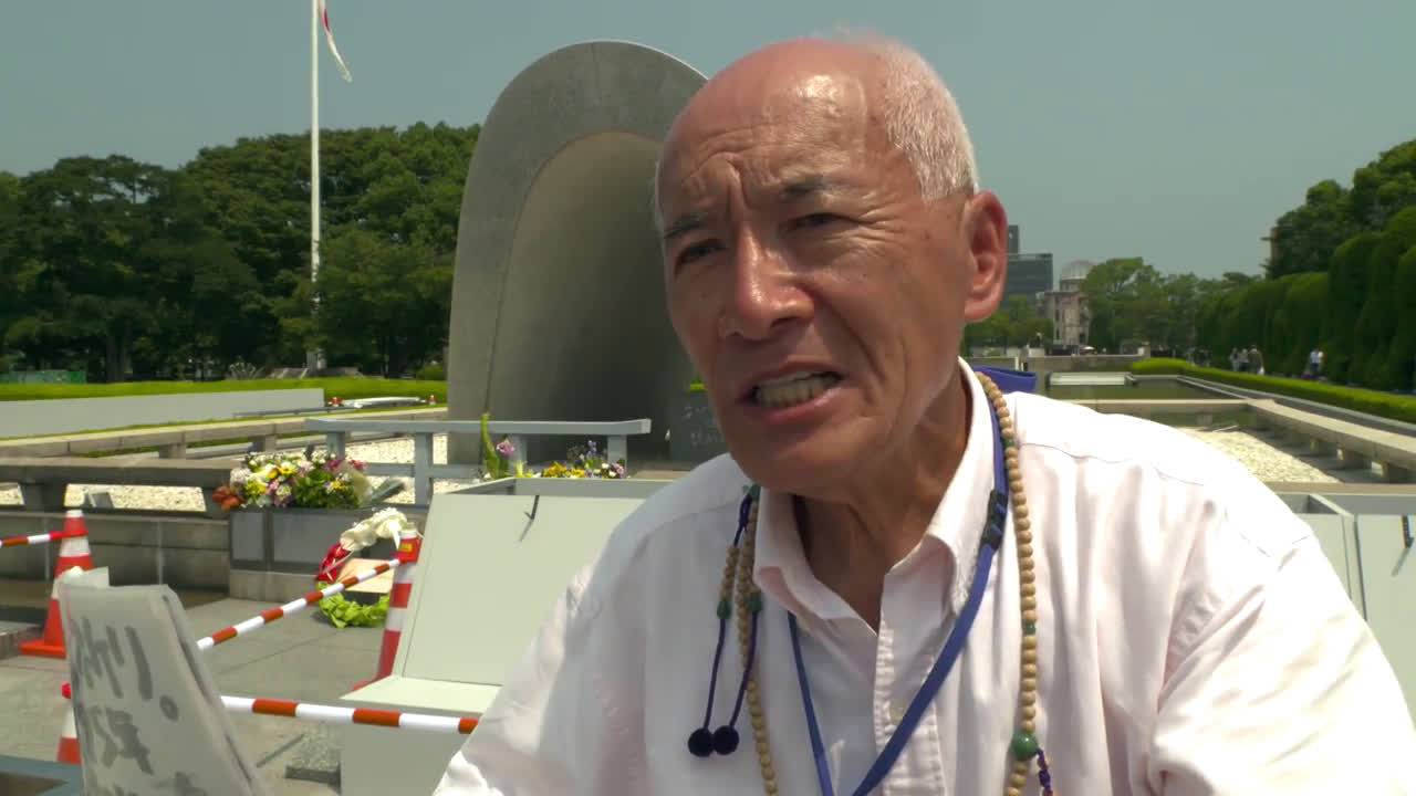 Japan: Prenatal victim of Hiroshima bombing shares story ahead of 75th anniv.