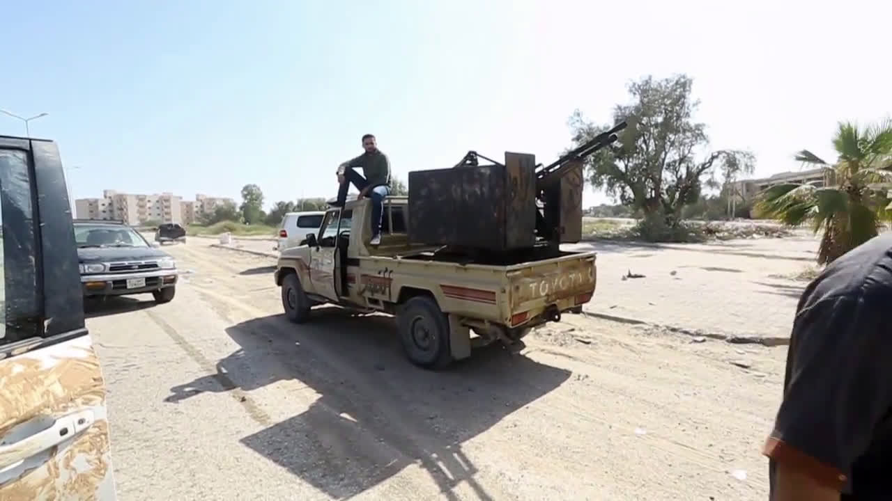 Libya: GNA forces in Azizyah amid battles with LNA