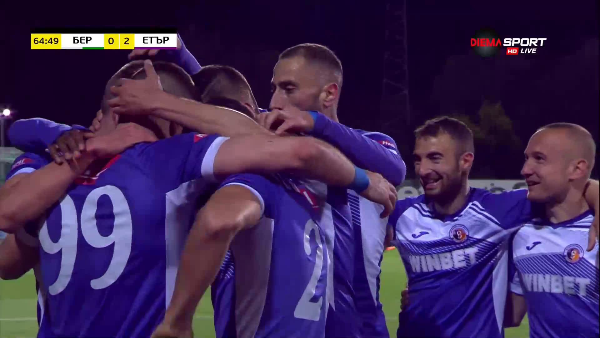 Боруков няма спирка, заши втори гол