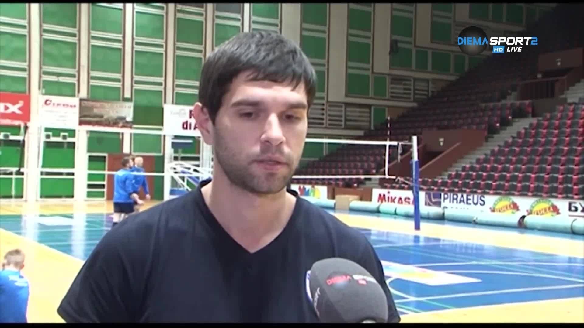 Ас на Хебър: В Пазарджик очакват от нас най-малко финал