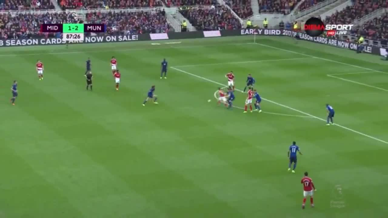 Мидълзбро - Манчестър Юнайтед 1:3 /репортаж/