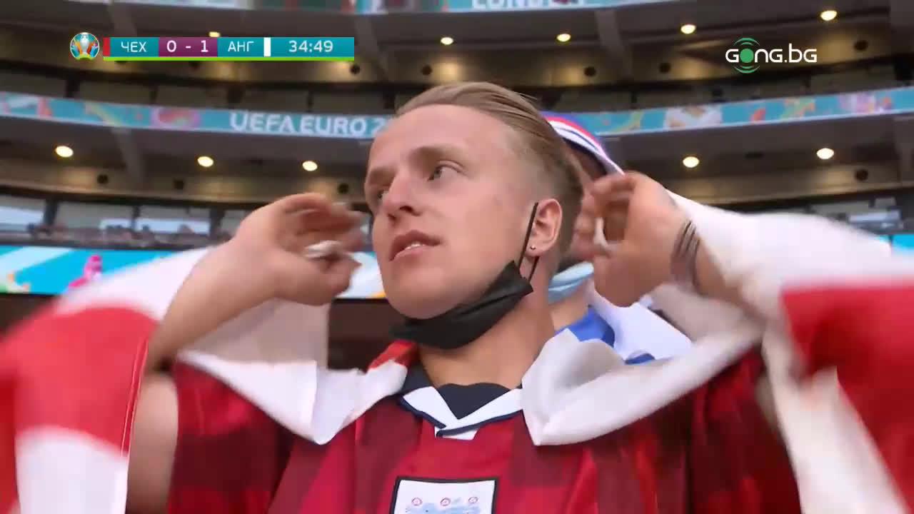 Чехия - Англия 0:1 /репортаж/