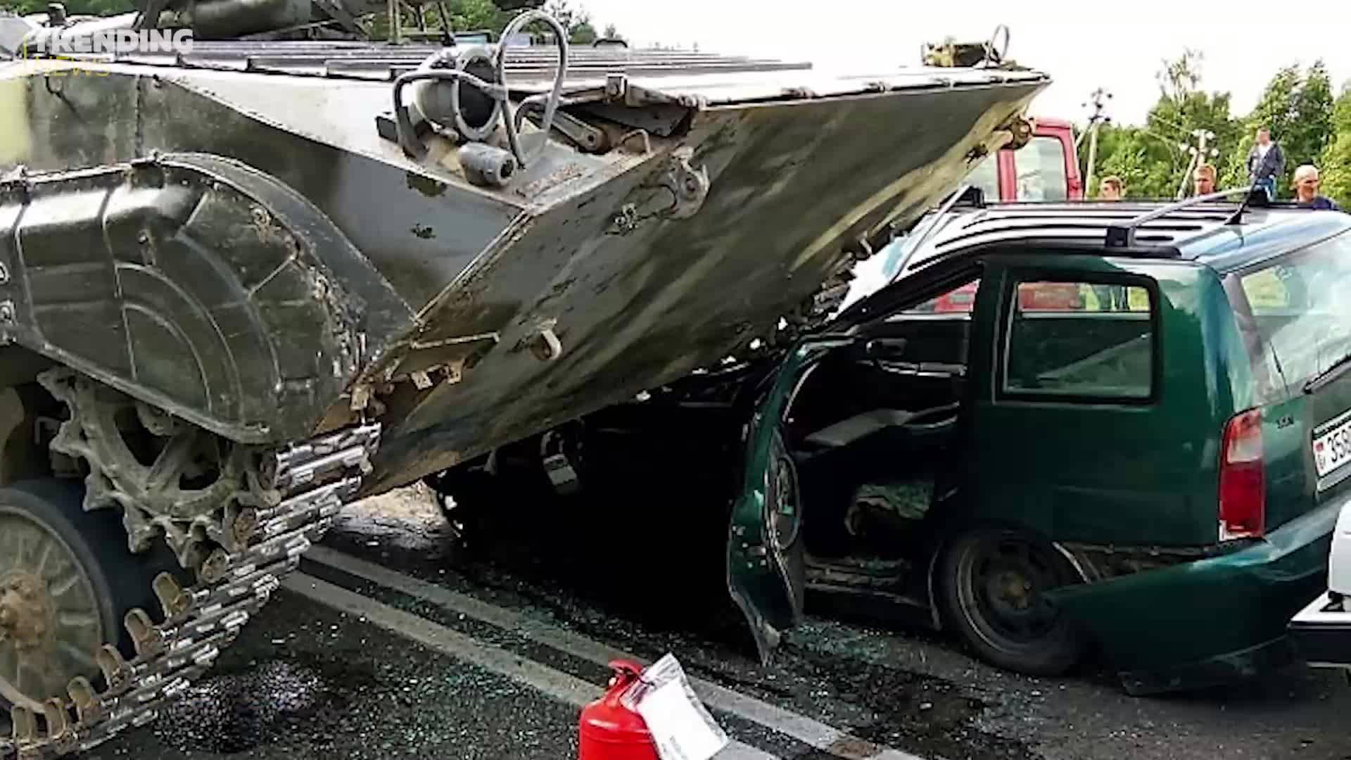Челен удар между танк и VW