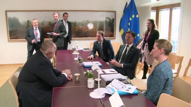 Борисов се срещна с лидерите на Дания, Швеция, Нидерландия и Австрия