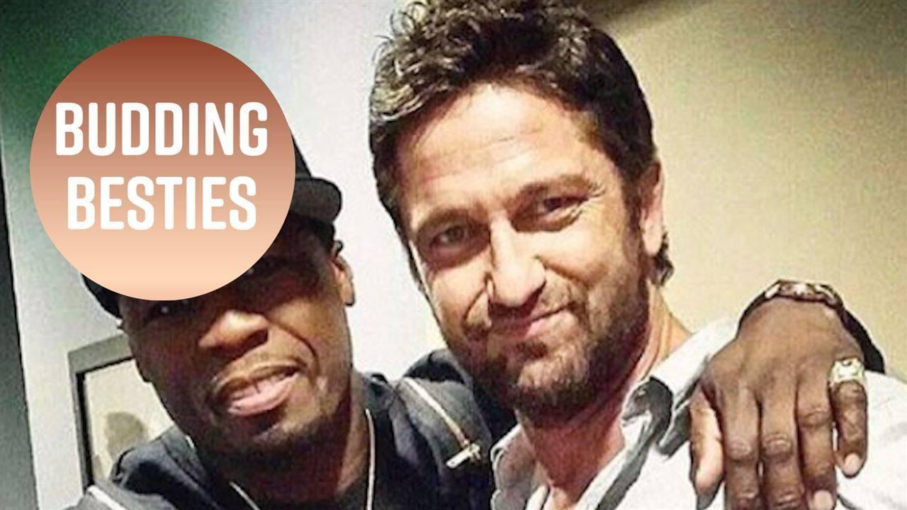 Джералд Бътлър и 50 Cent са новите холивудски приятелчета