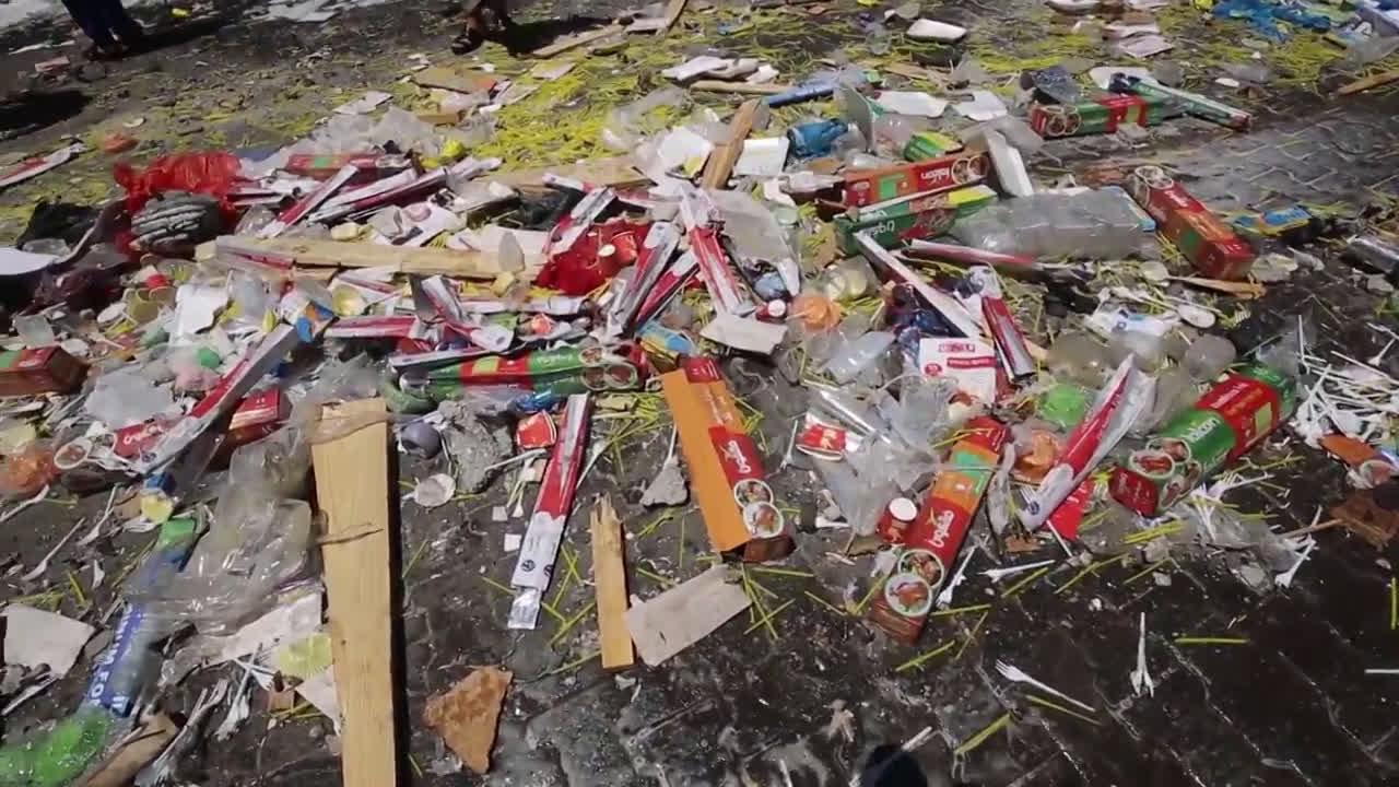 State of Palestine: Rafah buildings damaged following Israeli airstrikes