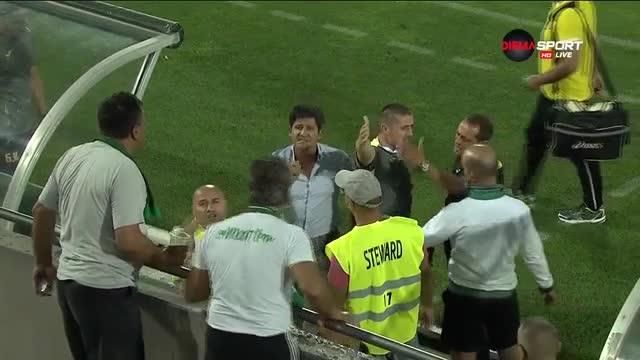 Неприятен инцидент в Разград с треньора на Ботев