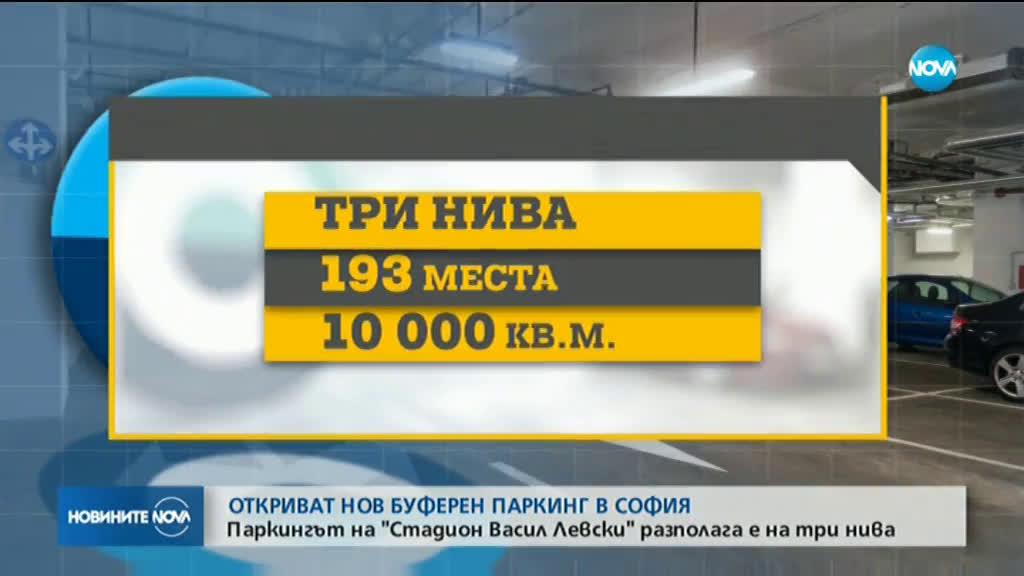 Откриват нов буферен паркинг в София