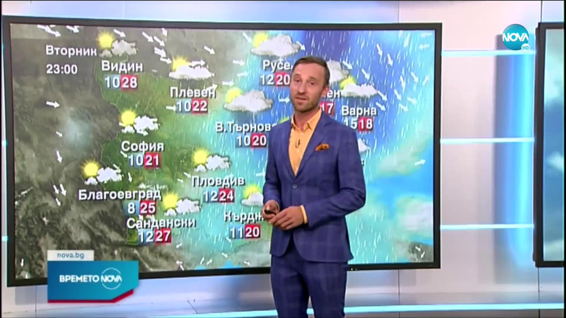Прогноза за времето (15.06.2021 - обедна емисия)