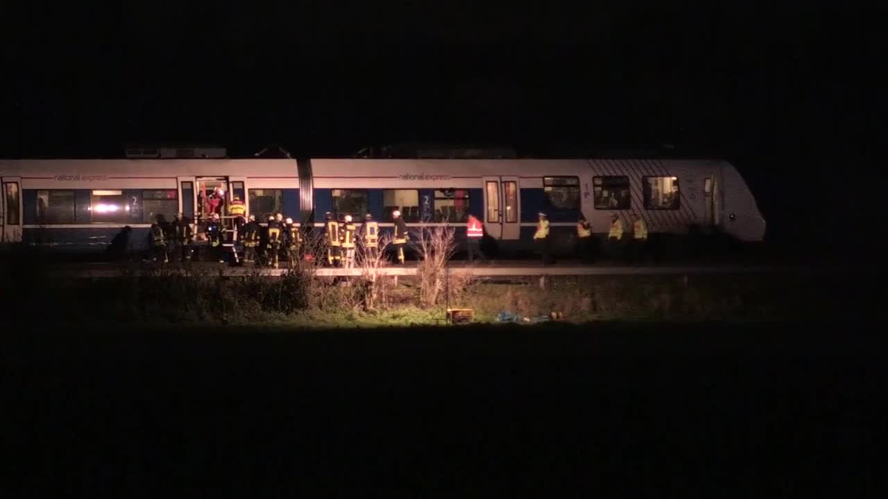 Germany: Several injured as passenger and freight trains collide near Dusseldorf