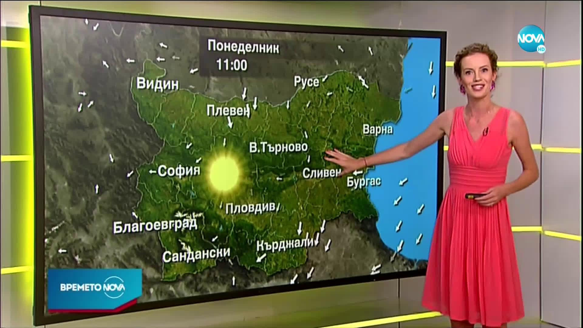 Прогноза за времето (31.08.2020 - сутрешна)