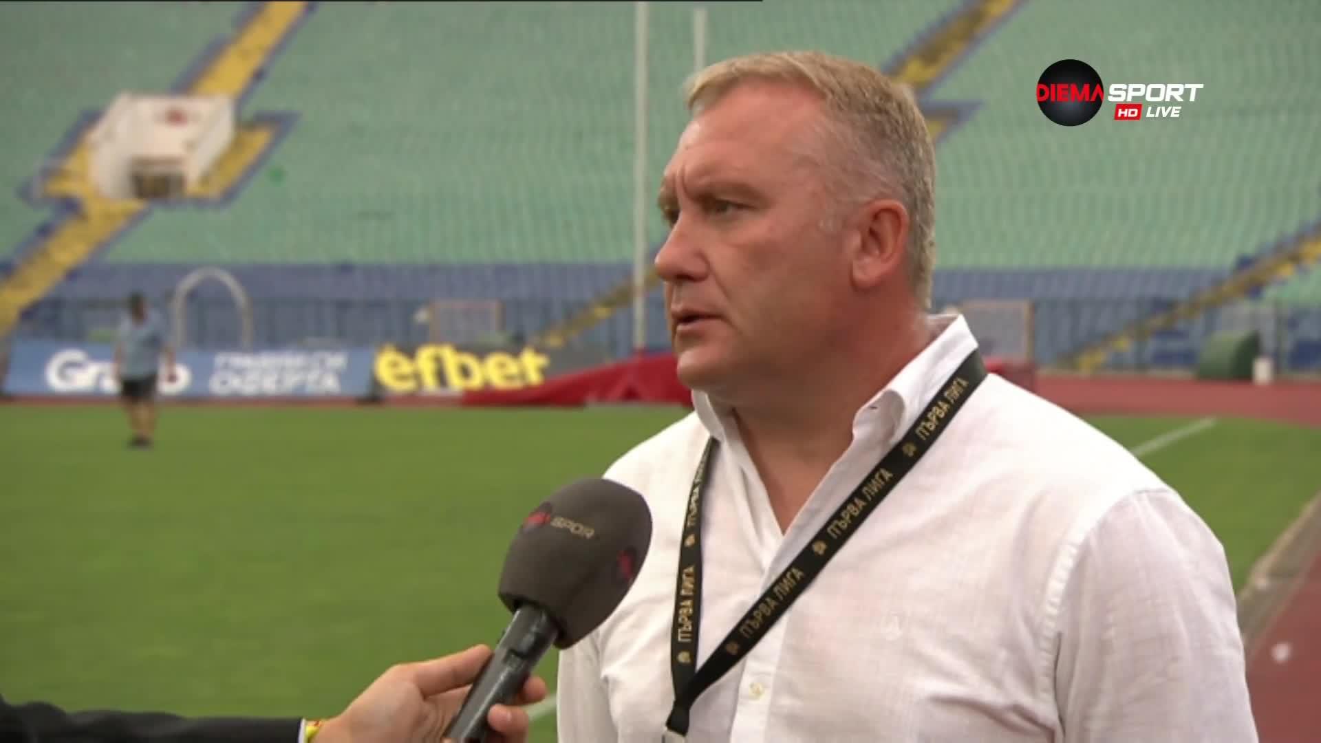 Киров: Трите точки дойдоха с малко повече нерви