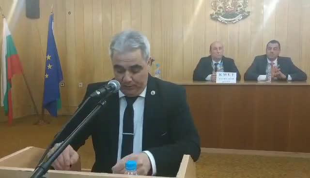 Динко Цъцаров стана председател на ОбС-Средец