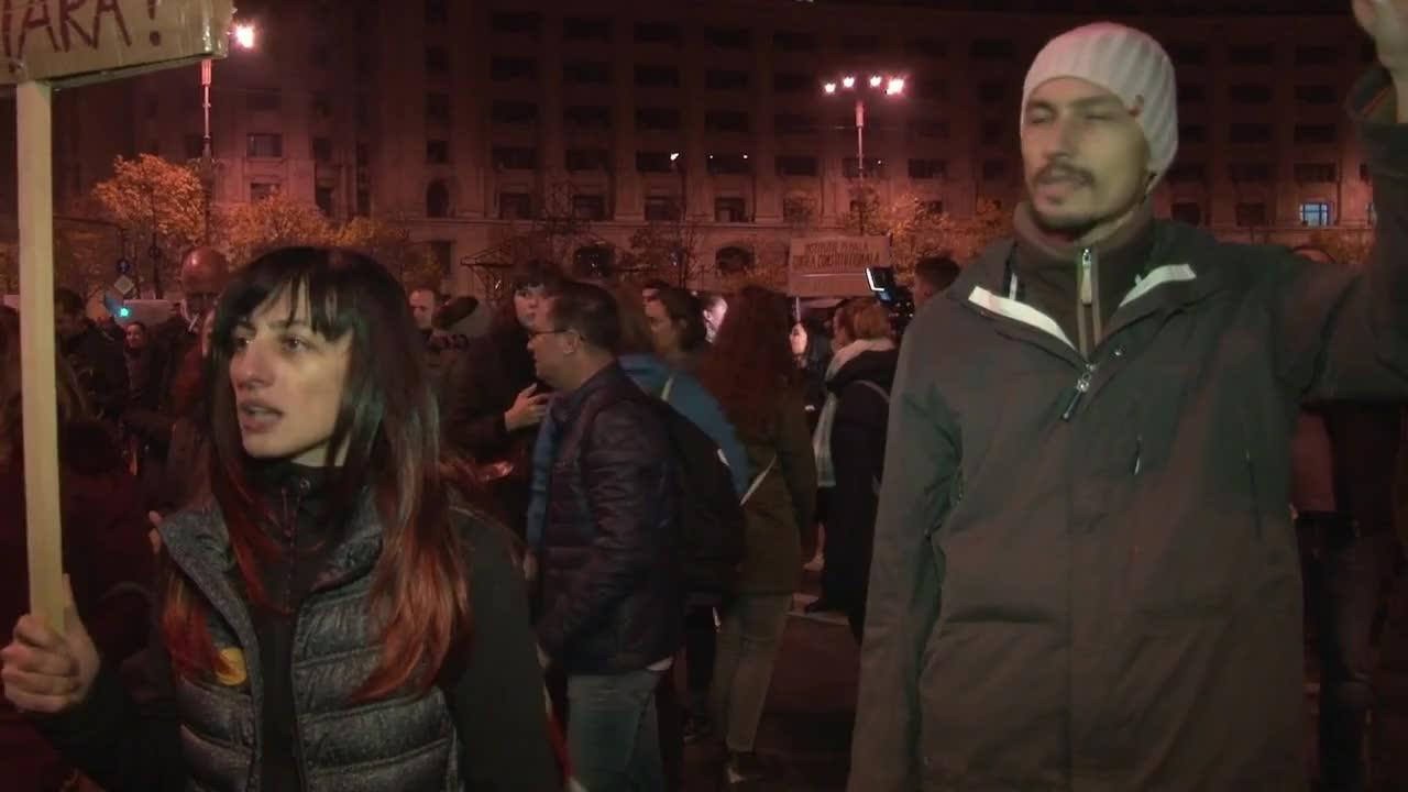 Romania: Hundreds take to streets to denounce judicial overhaul