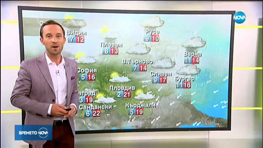 Прогноза за времето (30.10.2019 - сутрешна)