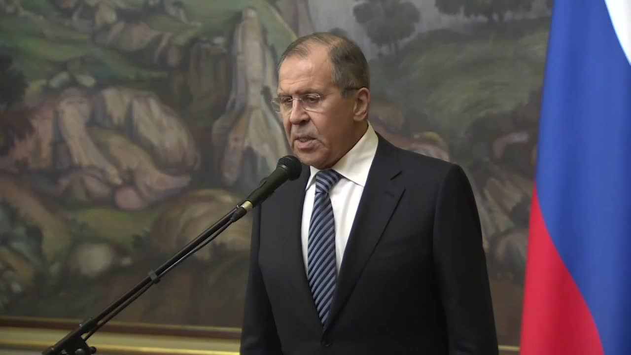 Russia: Lavrov says US diplomats expelled, US Consulate in Saint-Petersburg shut down