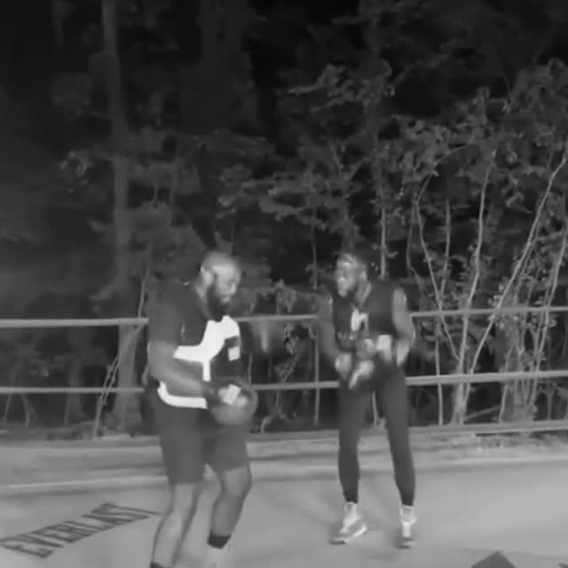 Дионтей Уайлдър тренира и танцува в 2 часа сутринта