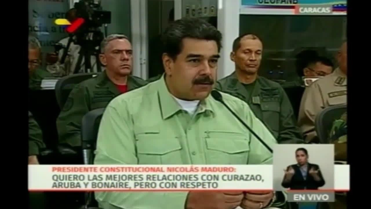 Venezuela: Maduro announces closing the border with Brazil