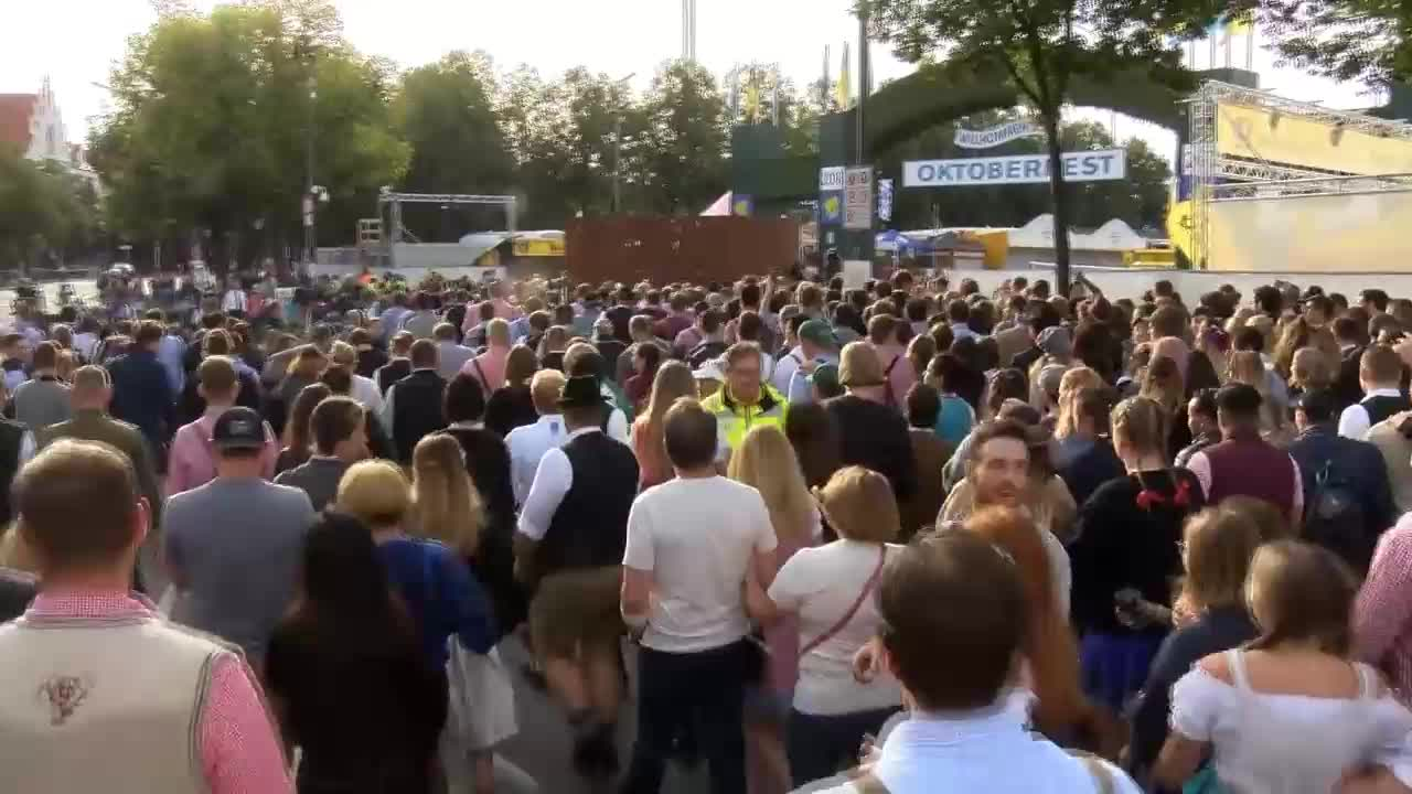 Germany: Security tight in Munich for 185th Oktoberfest