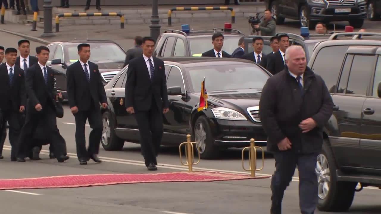 Russia: Kim Jong-un arrives in Vladivostok ahead of summit