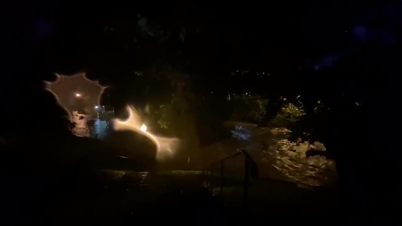 USA: New Jersey streets flooded as Hurricane Ida pushes north