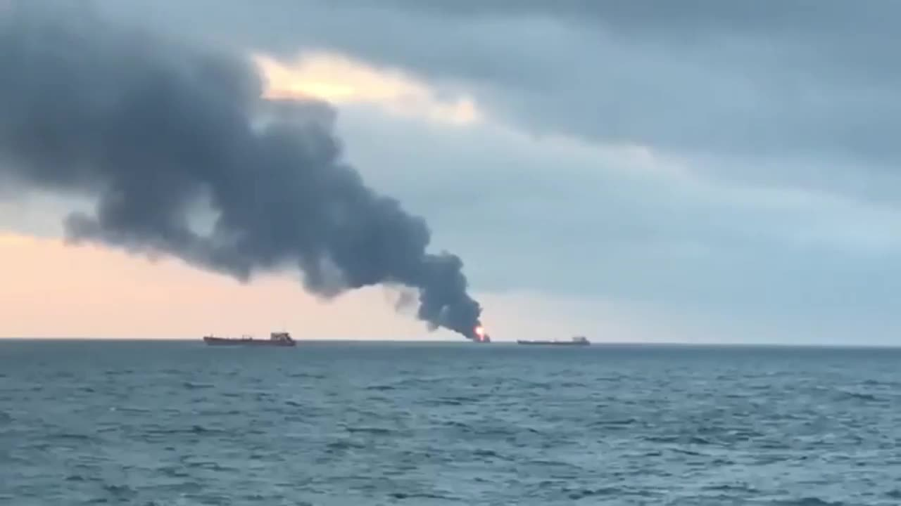 Russia: 9 dead after two ships catch fire in Kerch Strait – reports