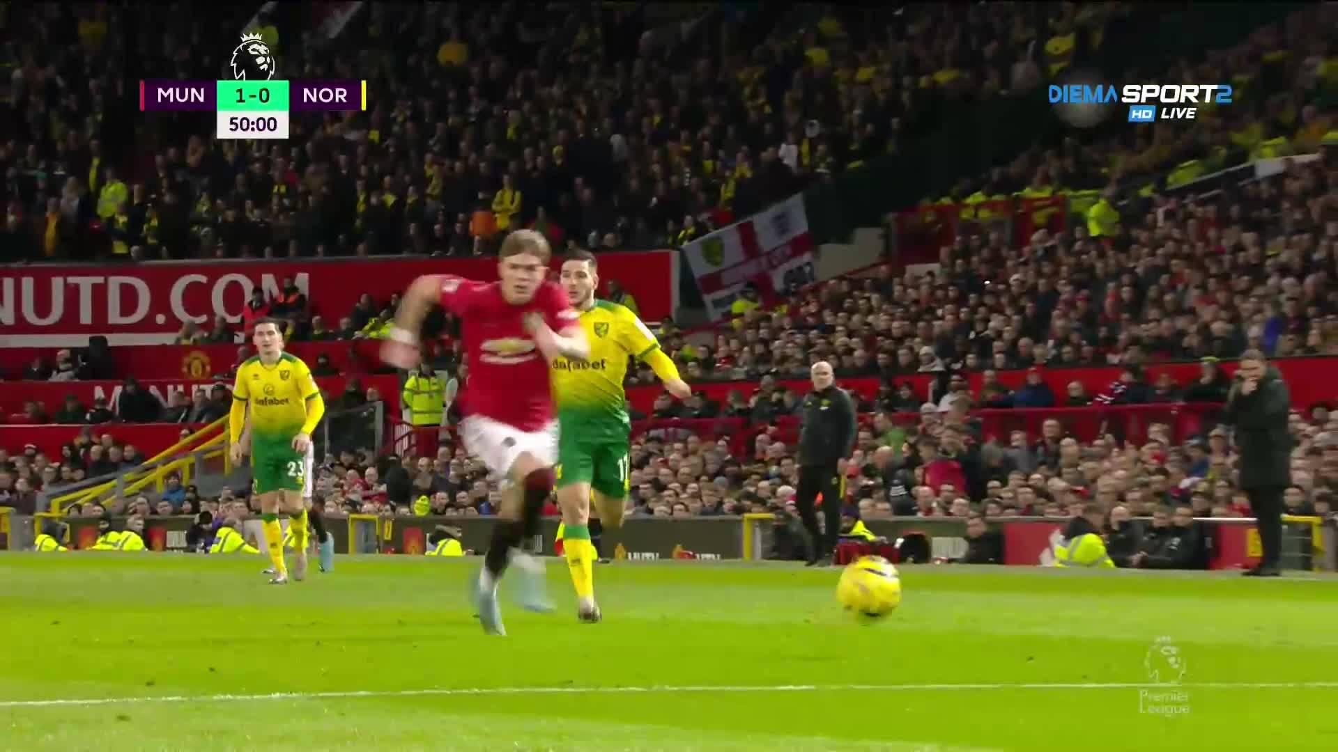 Манчестър Юнайтед - Норич 4:0 /репортаж/