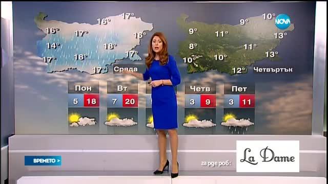 Прогноза за времето (21.02.2016 - централна)