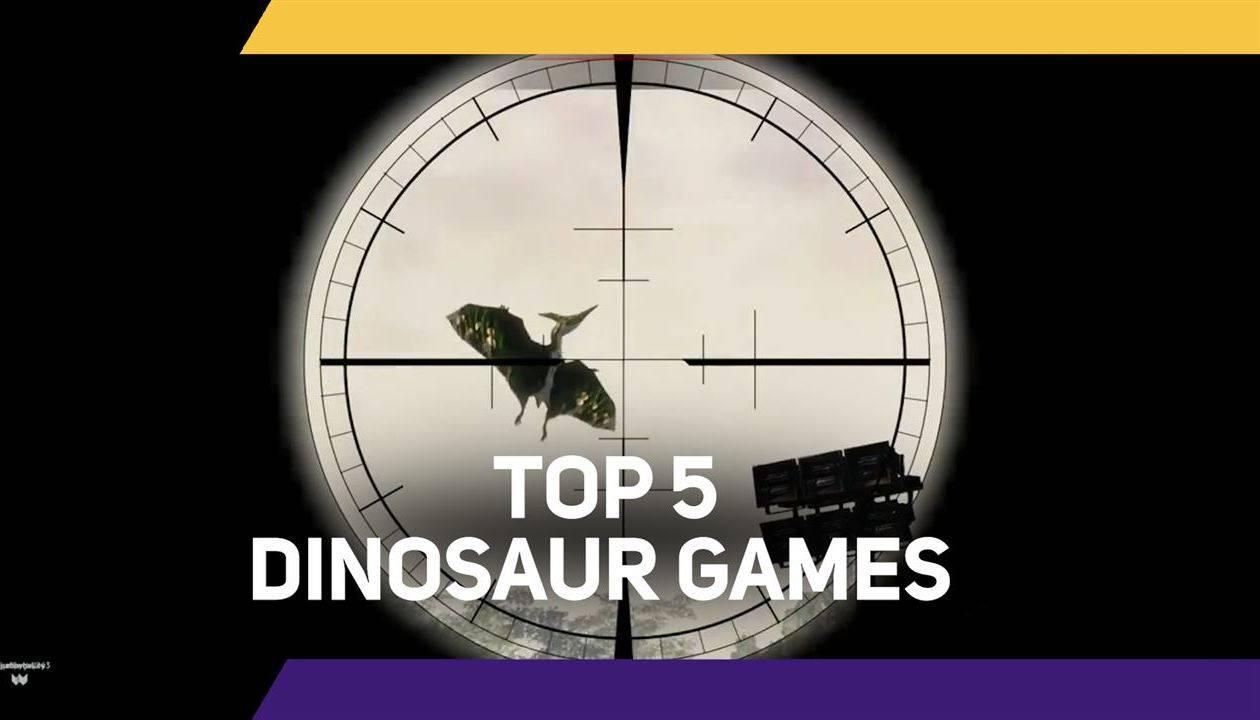 Top 5 Dino Games