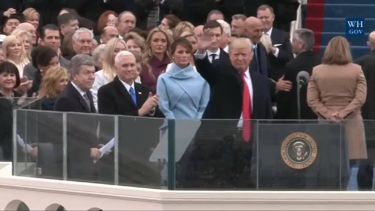 45-ият президент на Америка Доналд Тръмп се закле