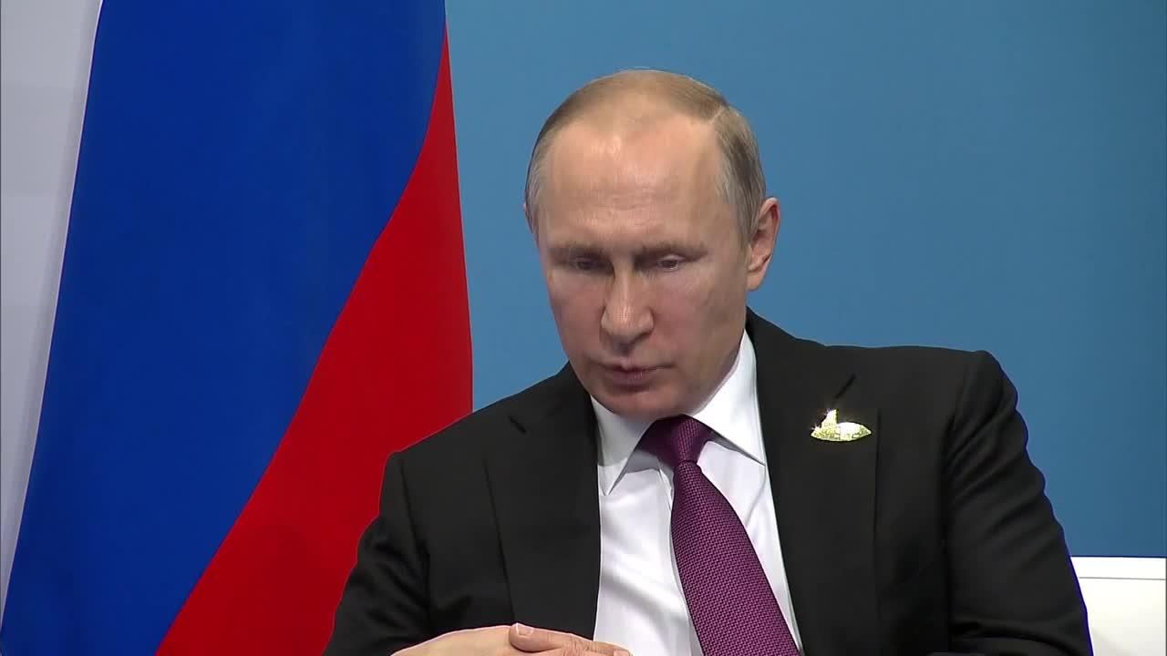 Germany: Putin and Erdogan discuss bilateral relations and Syria in Hamburg