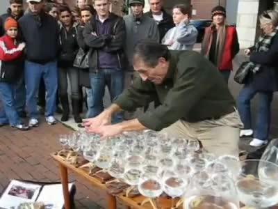 Страхотен талант с чаши