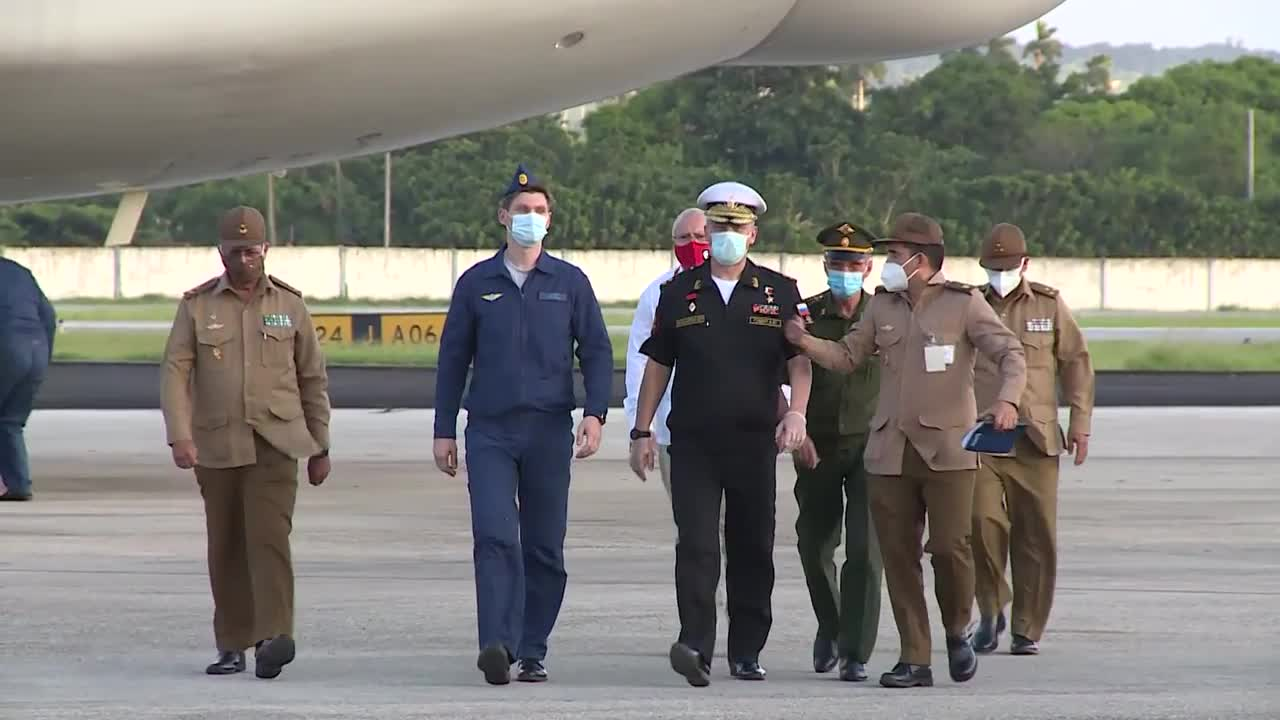 Cuba: Russian aircraft carrying over 41 tonnes of humanitarian aid lands in Havana