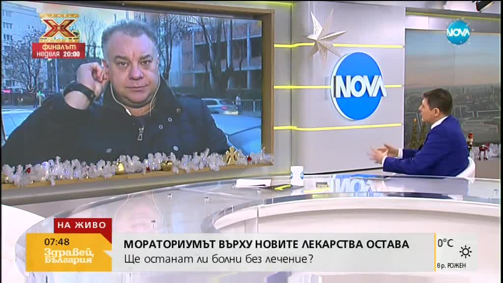 Ненков: Има писъци за мораториума върху лекарствата, защото ограничава пари за фармацевтичния бизнес
