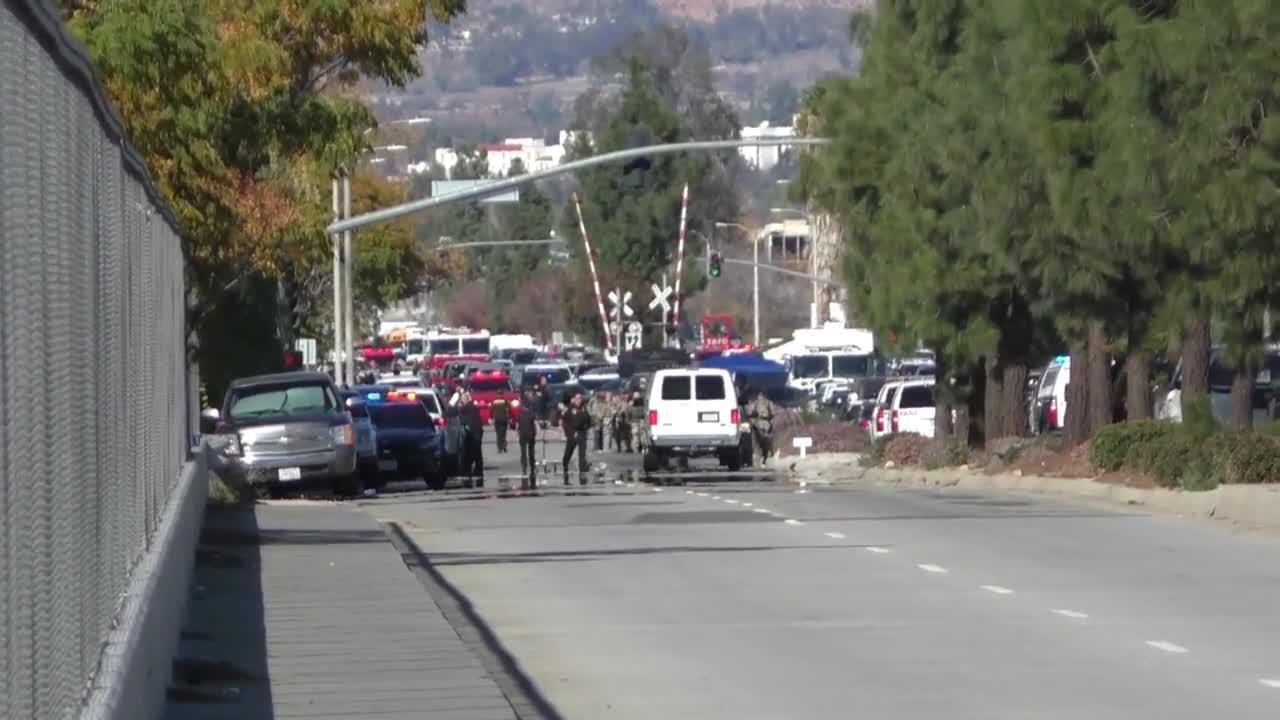 Свидетели разказват за стрелбата в Сан Бернардино