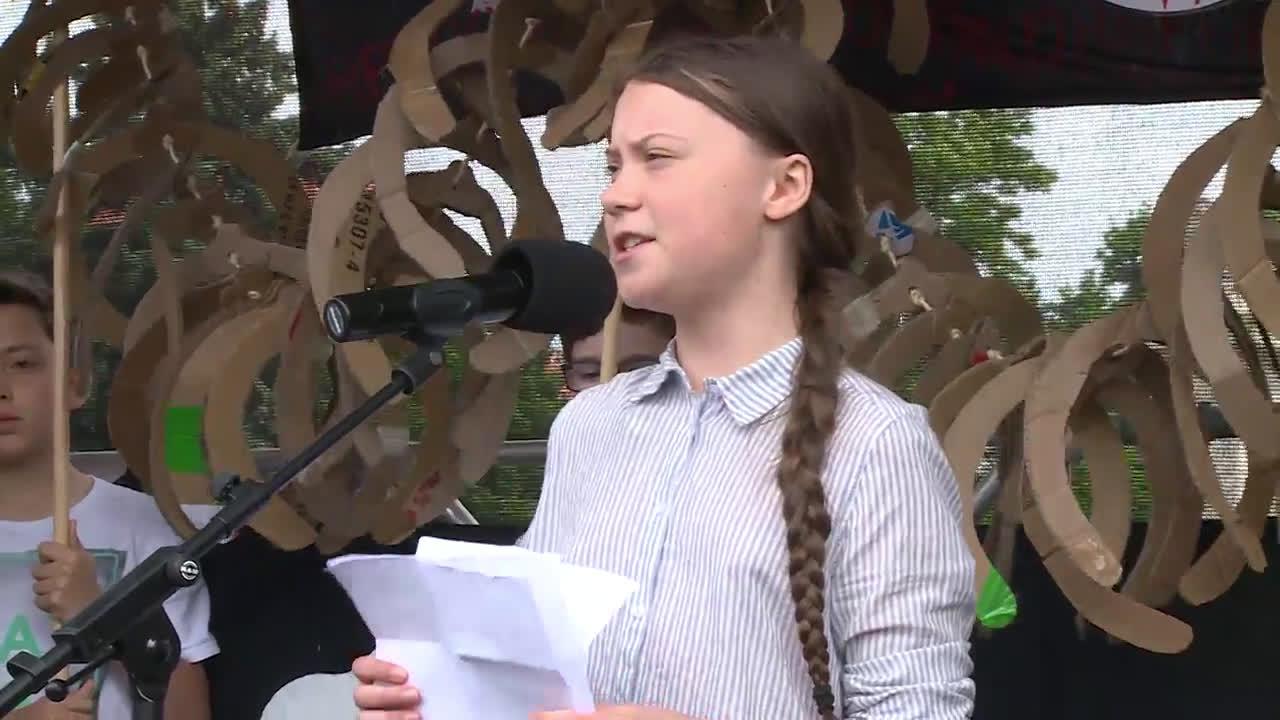 Austria: Greta Thunberg leads climate strike in Vienna