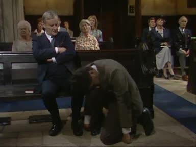 Мистър Бийн В Църквата (смях)