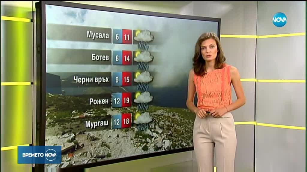 Прогноза за времето (30.07.2018 - сутрешна)
