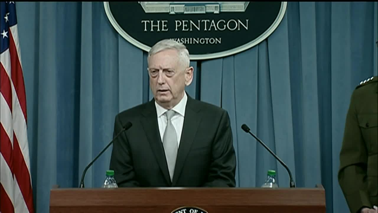 USA: Defence Sec. \'confident\' chemical weapons used in Syria