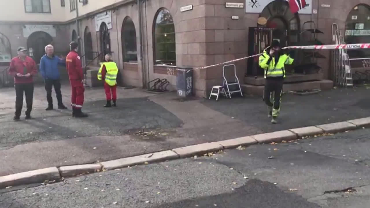 Norway: Several injured after armed man highjacks ambulance and drives into bystanders