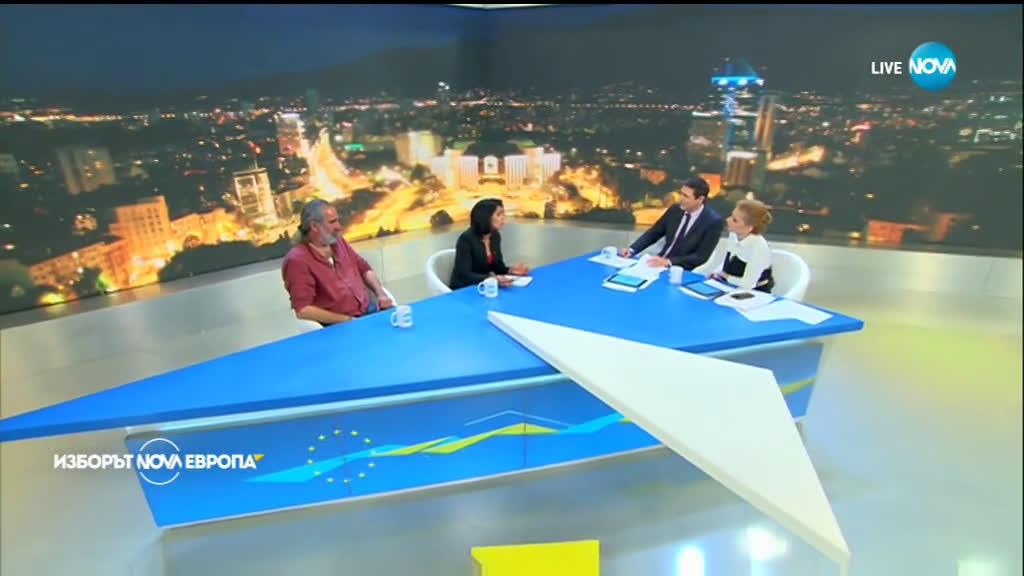 Андрей Слабаков и Ваня Григорова: Видяхме тотално отвращение на българския избирател от европейските