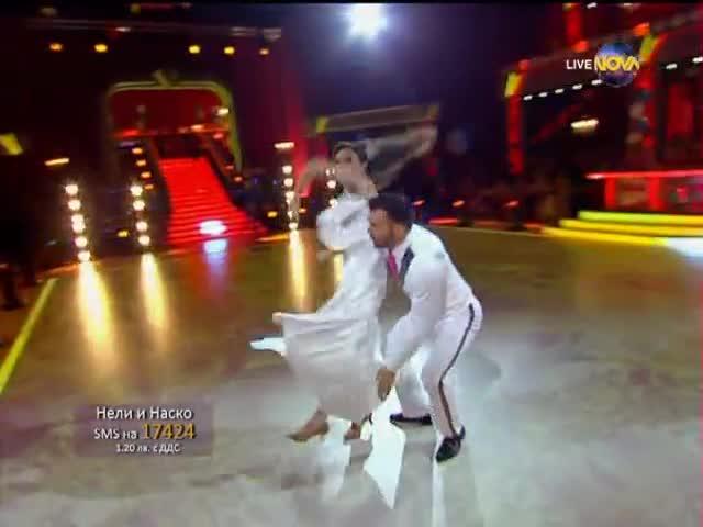 Dancing Stars - Нели и Наско - елиминации (22.05.2014г.)