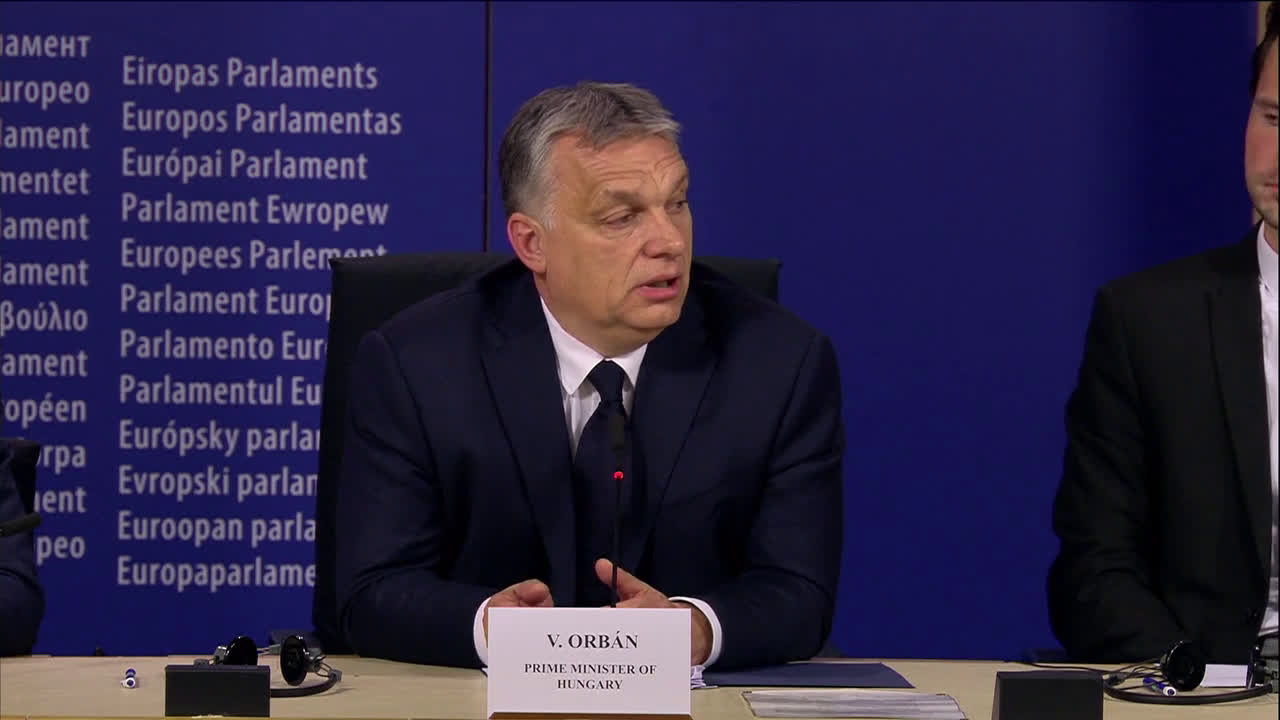 Belgium: Orban reacts to his right-wing party\'s suspension from EPP