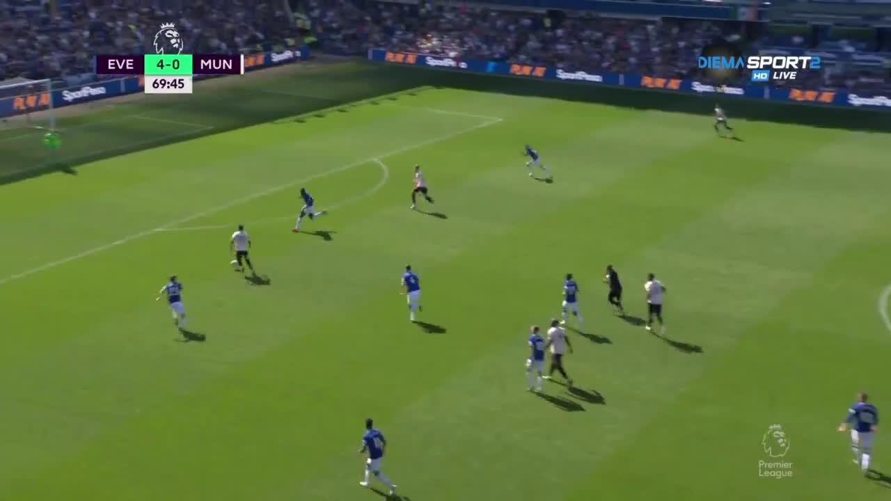 Евертън - Манчестър Юнайтед 4:0 /репортаж/