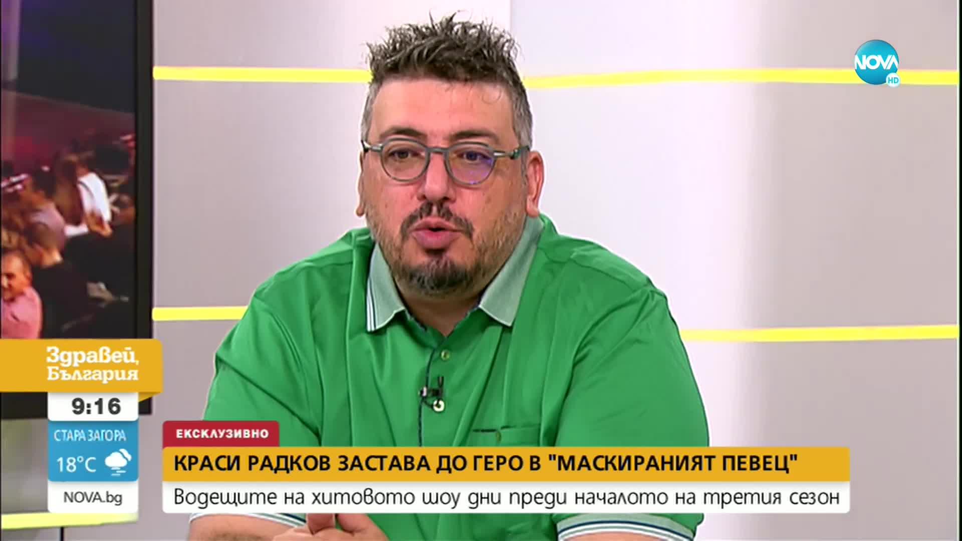 """Преди старта на третия сезон на """"Маскираният певец"""""""