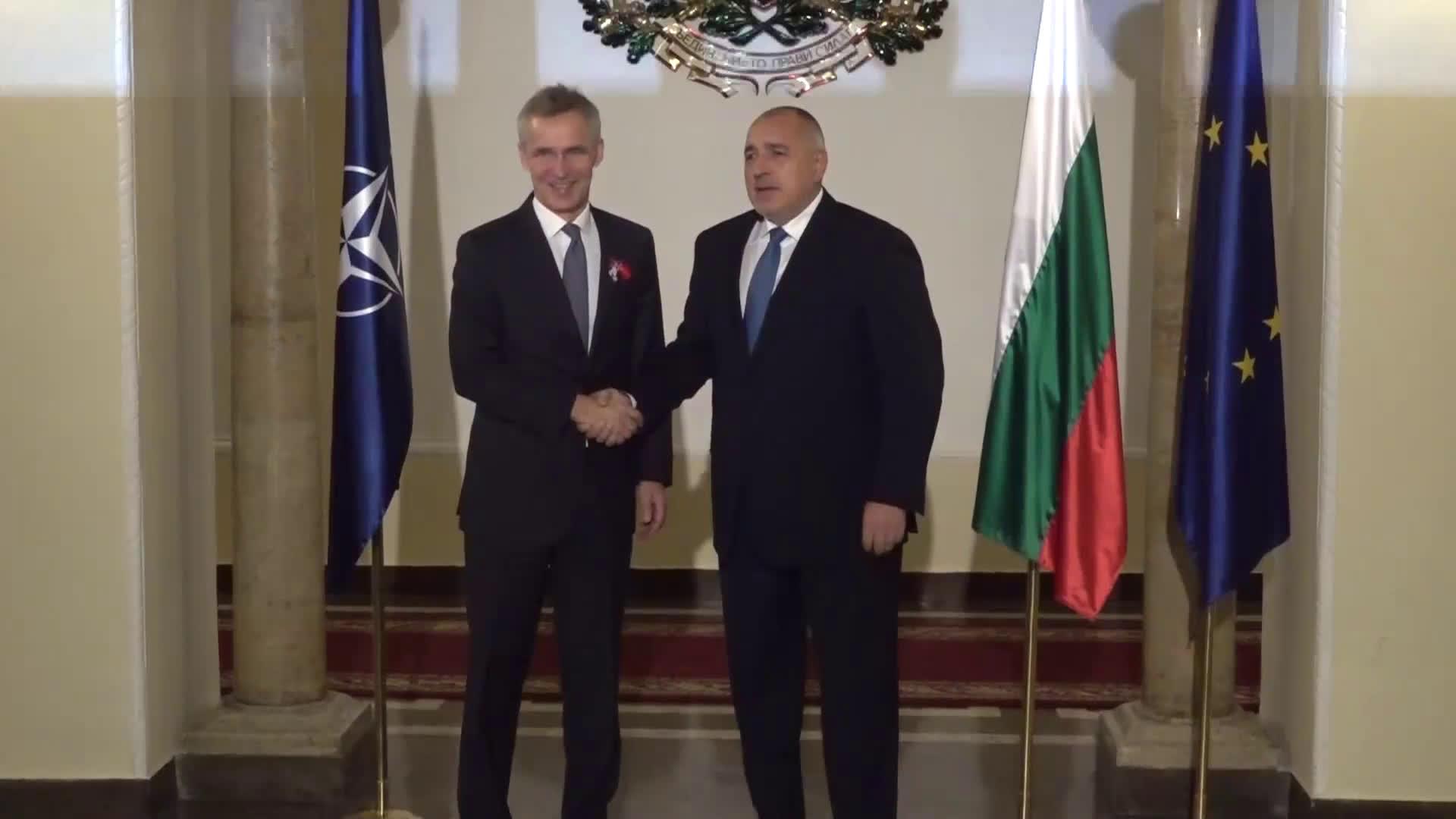 Започна срещата на Борисов и Столтенберг