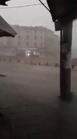 Бурята в Кърджали